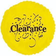 Clearance Balloon