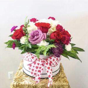 Floral love box